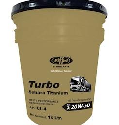 Dầu động cơ Diesel cao cấp bán tổng hợp Eiffel Sahara Titanium 20W50 CF-4 & Eiffel Vista Titanium 15W40 CF-4